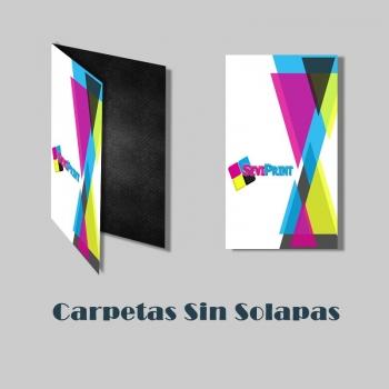 Carpetas A4 Sin Solapas