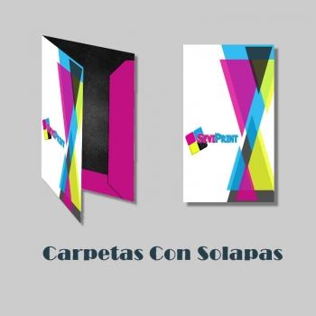 Carpetas A4 Con Solapas
