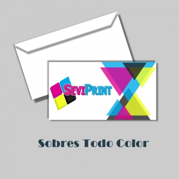 Sobres Todo Color