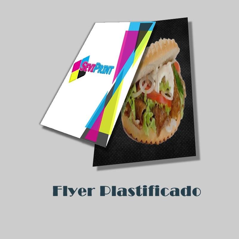 Flyer / Folleto Plastificado